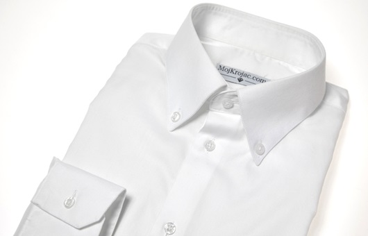 Wall Street White, Button Down - Wrinkle Free
